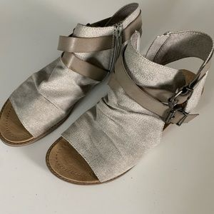 Blowfish Buckle Sandals